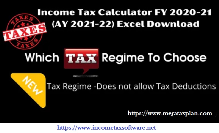 New and Old Tax Regime U/s 115 BAC for the F.Y.2020-21